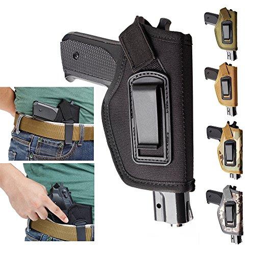 Gexgune Pistole Innen Bund IWB verdeckt tragen Pistole Fit Glock 17 19 22 23 32 33 Ruger Nylon (5 Farbe optional) (Verdeckte Holster Ruger Lc9)