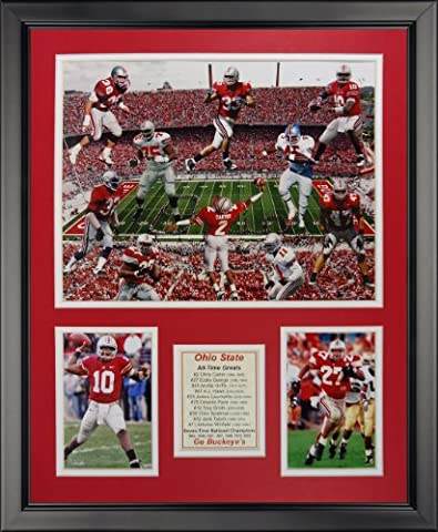 Legends Never Die Ohio State Buckeyes All-Time Greats Framed Photo Collage, 16