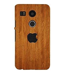 Designed wood Back Case Cover for LG Google Nexus 5X::LG Google Nexus 5X (2nd Gen)