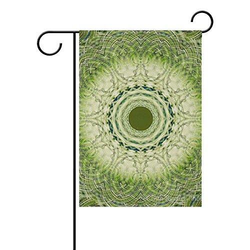 Bennigiry Tie Dye Polyester Garten Flagge Banner 30,5x 45,7cm, Vintage Retro Welcome Yard Flagge für Hochzeit Home Outdoor Garten Decor, Gesponnenes Polyester, mehrfarbig, 12x18(in)