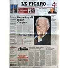 FIGARO (LE) [No 18185] du 25/01/2003 - ROGER CUKIERMAN - LE PRESIDENT DU CRIF DENONCE L'ANTISEMITISME A L'ECOLE. ENTRETIEN - METALEUROP - IL EST TEMPS DE REAGIR PAR PHILIPPE RECLUS - IRAK - LA TURQUIE NEGOCIE SA CONTRIBUTION A LA GUERRE - UN RESEAU ISLAMISTE DEMANTELE EN ESPAGNE - UDF, PCF ET VERTS FONT CAUSE COMMUNE - SARKOZY INTRAITABLE CONTRE LES BAVURES - MISSION DE REFLEXION SUR LES SUICIDES EN PRISON - CHRISTINE MALEVRE PIEGEE PAR SON TEMOIN - POT-AU-FEU, CUISINE D'EN BAS - LE FIGARO - EC