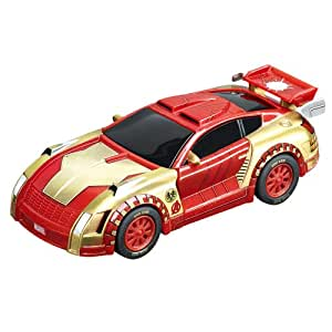carrera go 20061256 voiture miniature et circuit marvel the avengers iron man. Black Bedroom Furniture Sets. Home Design Ideas