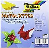 Folia 9105 - Faltblätter aus Origamipapier 80 g