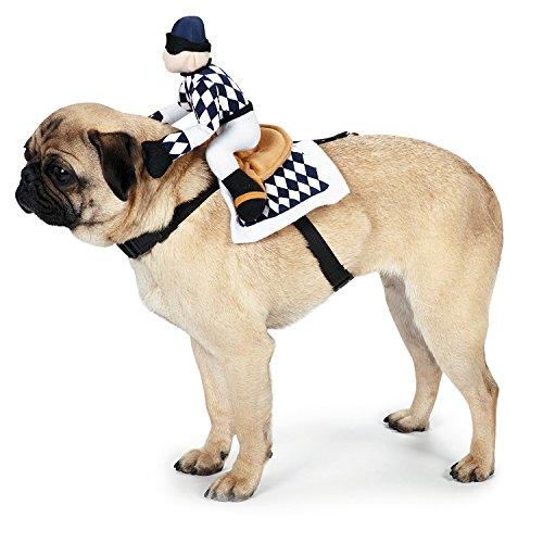 (Sattel für Hunde mit 2 verstellbaren Gurten Größe M)