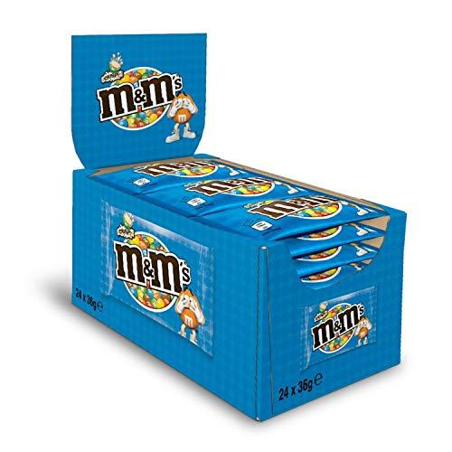 M&M\'S Crispy Beutel, 24er Pack (24 x 36g)