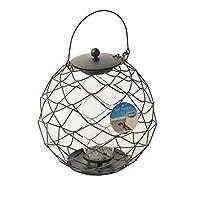 Duvo+ Silo Mangeoire Protectrice Arrondie pour Graine pour Oiseau