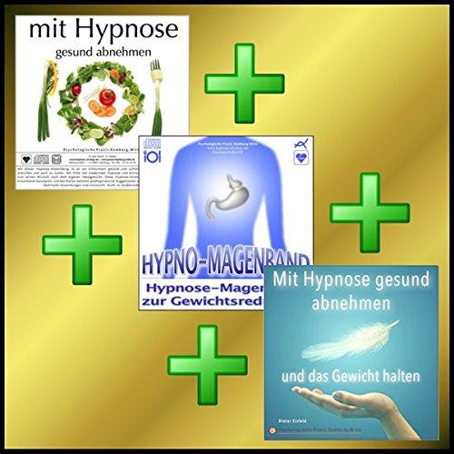 : MIT HYPNOSE GESUND ABNEHMEN + HYPNO-MAGENBAND + MIT HYPNOSE DAS GEWICHT HALTEN = OPTIMALES ABNEHMPROGRAMM! ()