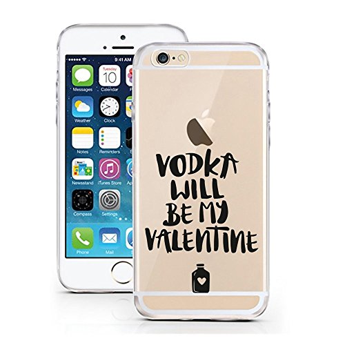 Blitz® FOYER motifs housse de protection transparent TPE caricature bande iPhone oh la la M14 iPhone 5c Vodka M4