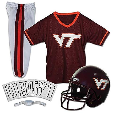 Franklin Sports 15501F72P1Z COL Virginia Tech Medium ensemble uniforme