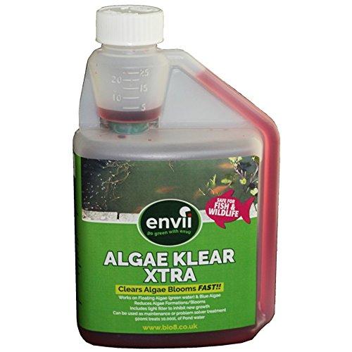 Envii Algae Klear Xtra – Teich Algenvernichter & Mittel zur schnellen Beseitigung von Wasserblüte –
