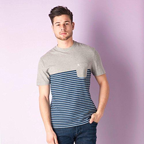 original-penguin-t-shirt-homme-gris-x-large