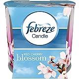 Febreze Geruchsbeseitigende Duftkerze Rote Kirschblüte, 100g