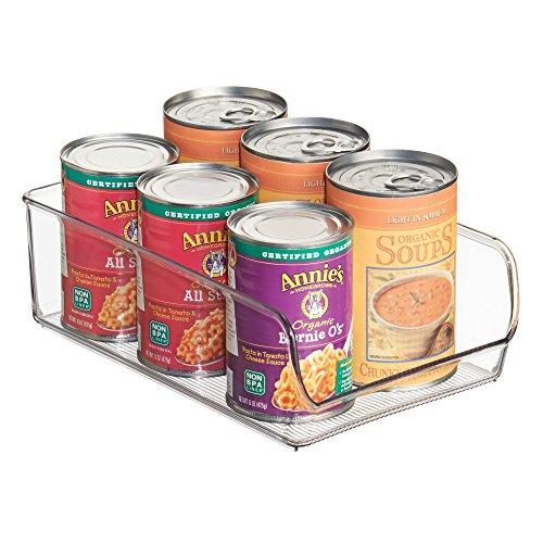 InterDesign Linus Aufbewahrungsbehälter, Kunststoff, durchsichtig -
