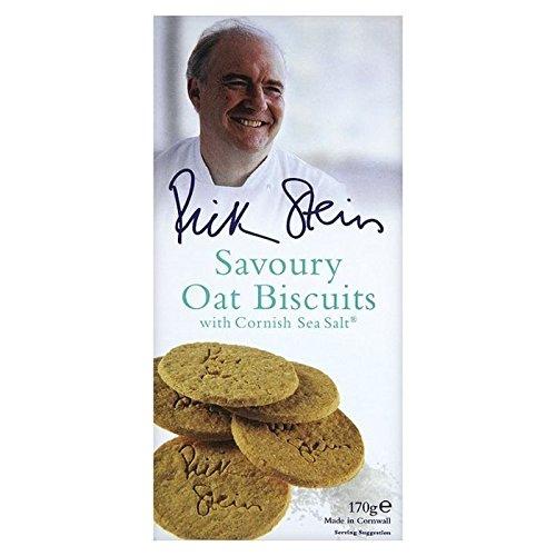 Rick Stein Biscuits D'Avoine Salés 170G - Paquet de 2