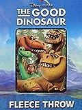 Offizielles Lizenzprodukt Disney The Good Dinosaurier Fleece Überwurf