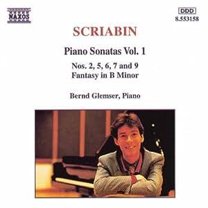 Scriabin : Sonates pour piano Vol. 1