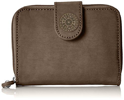 Kipling Damen NEW MONEY Geldbörse, Braun (True Beige), 9.5x12.5x3 cm