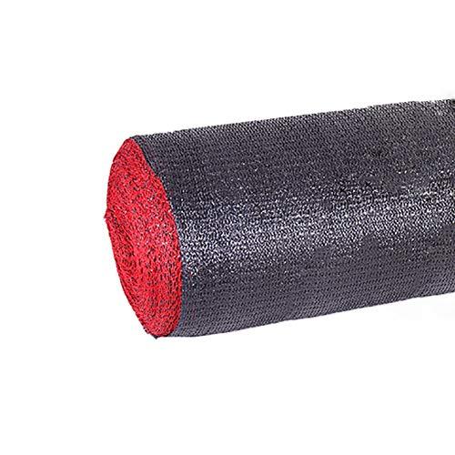 Schattierungsnetz Schattiernetz 60% UV-Block Shade Tuch Raw Roll, Schwarz Heavy Duty Sonnenschutz Atmungsaktiv Rol Up Mesh, for Patio/Pergola/Gewächshaus/Scheune (Size : 3×50M) -