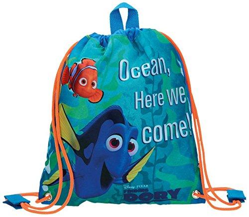 Disney Finding Dory Mochila Infantil, 0.75 litros, Color Azul