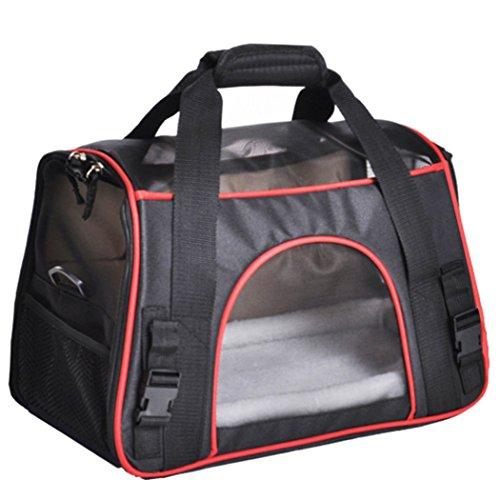 Treat Me Flugzeug Transporttasche Hunde Komfort & Praktisch Pet Travel Katzen Tragetasche Transporttasche für Kleine Hunde Haustier