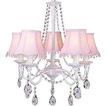 Perfect Kronleuchter Deckenleuchte Kristall Licht Moderne Einfache E14 Rosa Garten  Kinderzimmer Mädchen Schlafzimmer Wohnzimmer Lampen Dekoration Beleuchtung