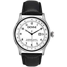 Reloj cuarzo para hombre Giovine Casanova Tempo OGI004/T/L/SS/BN/NR