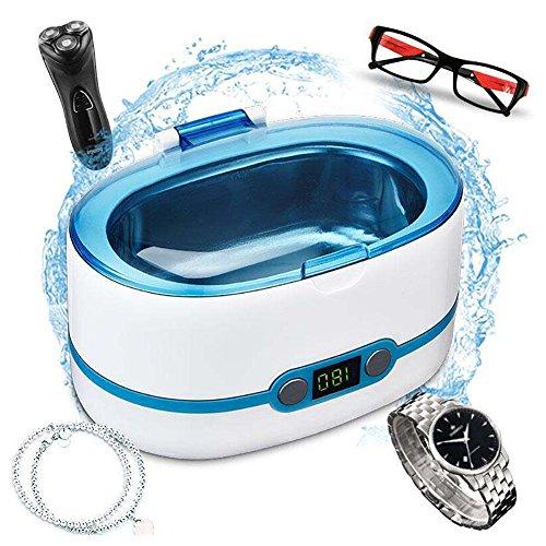 ZRB Ultraschall Reiniger Maschine Tragbar Haushalt Reinigung Brille Ultraschall Polieren Reinigung Gerät Schmuck Uhr Reiniger 50W-750ML - Ultraschall Brillen-reiniger