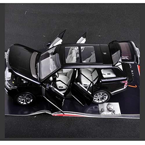 YaPin Modellauto 1:18 2017 Land Rover Range Rover Executive Modell Range Rover LCD Geburtstagsgeschenk Simulation Dekoration Legierung Sportwagen Modell Sammlung Dekoration Lcd-land Rover