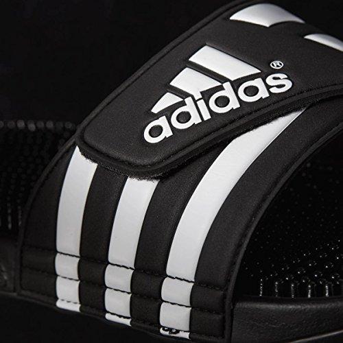 adidas Herren Adissage Dusch-& Badeschuhe Schwarz (Black/black/running White Ftw)