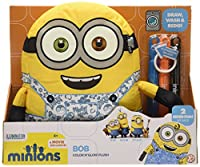 Bring your Minion to life! Draw on both sides of your Minion with the washable markers. Once you are finished with your artistic creations simply pop your Minion in the washing machine and he will come out squeaky clean! Start all over again ...