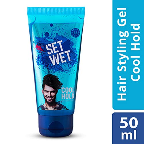 Set Wet Style Hair Gel Cool Hold 50ml (Ship from India)