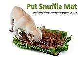 Petneces pour Animal Domestique Snuffle Tapis Tapis de mangeoire pour Chien et Chat pour Chien Odeur d'entraînement Tapis de Stress Release Nosework Couverture