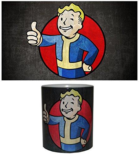 Tazza, motivo: Fallout