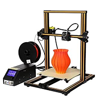 Creality CR-10 Original Orange 3D Printer Prusa I3 Half Assembled DIY Kit