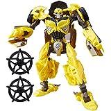 Transformers: El último caballero Clase Deluxe Bumblebee Figura de acción