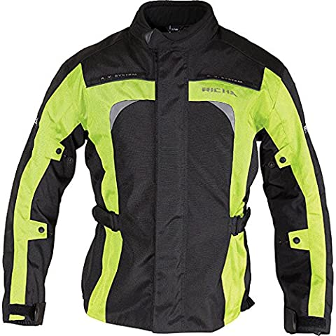 Richa Bolt Motorcycle Jacket 3XL Flou Yellow