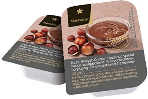 Preisvergleich Produktbild Star Culinar - Nuss-Nougat-Creme Einzelportionen - 120x20g / 2, 4kg