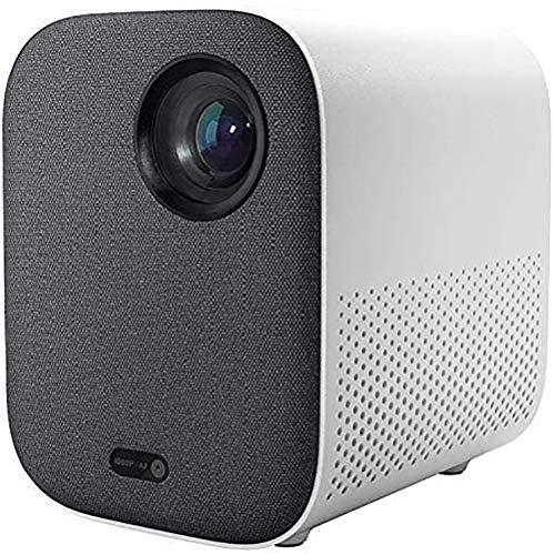 Oferta de Xiaomi Mini DLP Projector 1080P Full HD AI Control Remoto de Voz 500ANSI 4K Video 2GB 8GB 2.4G / 5G WiFi BT Proyector LED portátil para Cine en casa
