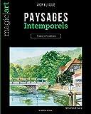 Paysages intemporels : Acrylique - Transferts inclus