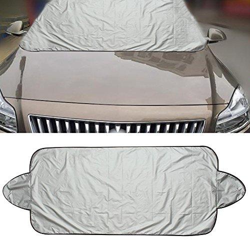 Auto Frontscheibe Bezug Hitze Sonne Schatten Schnee Frost Ice Shield Displayschutz Staub Polyester Taft Snow Block 1PCS