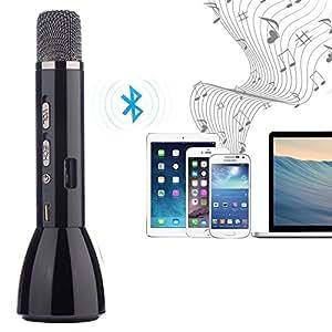 microphone bluetooth sans fil fjoy k088 karaok musique micros condensateurs dynamiques studio. Black Bedroom Furniture Sets. Home Design Ideas