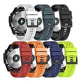 NotoCity Garmin Uhrenarmband Leicht Fit 22mm Breite Silikon für Garmin Fenix 5 Armband