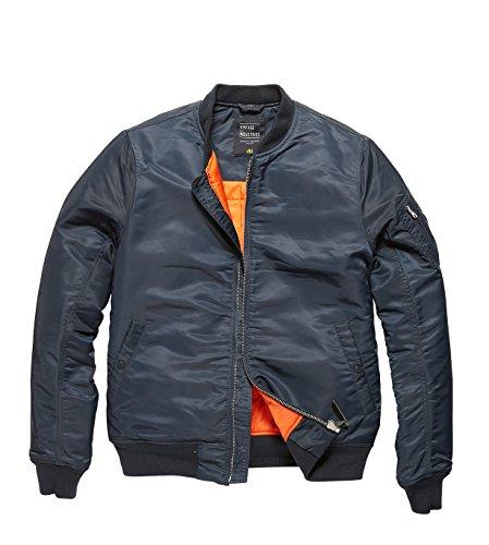 Preisvergleich Produktbild Vintage Industries Westford MA1 Jacke L Blau / Schwarz