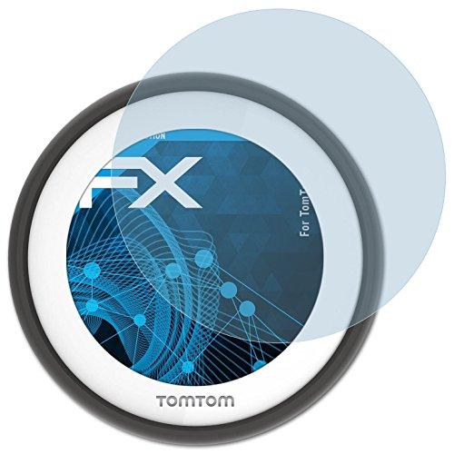 atFoliX Displayschutzfolie für Tomtom VIO Schutzfolie - 3 x FX-Clear kristallklare Folie