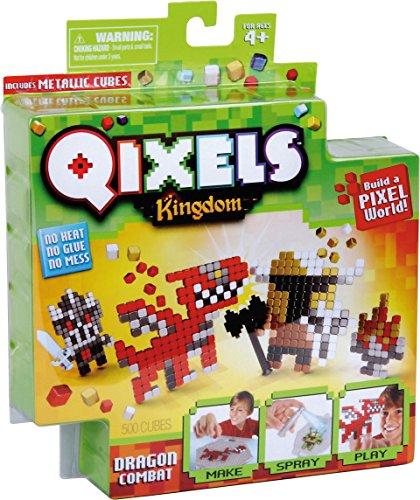 Kanaï Kids-kk87108-Mini Kit Kreationen qixels Königreich-Thema Dragon Kampf