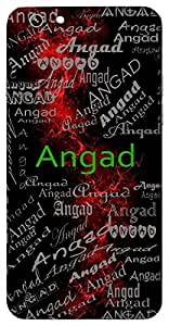 Angad (Mythological Name) Name & Sign Printed All over customize & Personalized!! Protective back cover for your Smart Phone : Samsung Galaxy Note-3