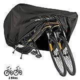 Housse pour Vélo, EMIUP 190T nylon Housse de Pluie de Vélo étanche anti poussière protection UV Housse de vélo pour VTT/vélo de route (Noir)