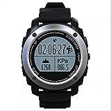 Touch Screen Smart Watch für Surfen,Kajak,Rafting,Segeln,Wandern,Camping,Angeln und Sport Adventurer Digital Smart Watch,Fitness Tracker Uhr,Wasserdicht Intelligente Uhr-Telefon,Stützmitteilung-Mitteilung,Aktivität Tracker