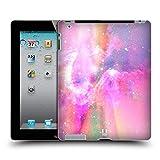 Head Case Designs Pink Und Magenta Galaxie Pastell Ruckseite Hülle für iPad 2 (2011)