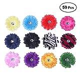 HEALIFTY 50 STÜCKE Handgemachte stoff Sonnenblume Mini